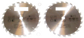 2 Stück HM Hartmetall Kreissägeblatt Sägeblatt 350 x 30/25/22/20/16 x 24 Z Zähne