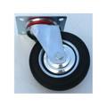 Rolle Lenkrolle Transportrolle Rad 160 mm Gummi Stahlfelge 150 kg belastbar Bild 4