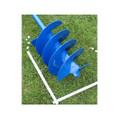 Erdbohrer Erdlochbohrer Handerdbohrer Pfahlbohrer 250 mm 25 cm Stahlgriff 4 fach 005