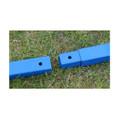 Brunnenbohrer Erdbohrer Erdlochbohrer 150 mm 15 cm bis 6 Meter tief aus Stahl Bild 6