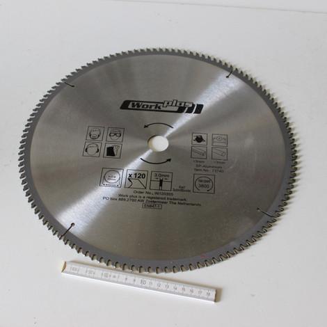 2 Stück Alu Spanplatte HM Widia Kreissägeblatt D 400 x 30/25/16 Feinzahn 120 Z