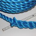 Seil Tau Tauwerk PP Polypropylen gedreht 20 mm x 40 m Schlaufe blau 5200 kg  Bild 4