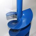 Erdbohrer Erdlochbohrer Handerdbohrer Pfahlbohrer 180 mm 18cm 1 Meter Stahlgriff Bild 4