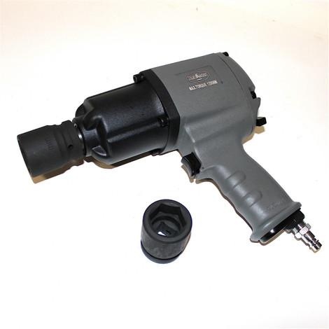 3/4 Zoll 20 mm 1200 Nm Druckluft Schlagschrauber Druckluftschrauber Set Koffer