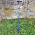 Erdbohrer Erdlochbohrer Handerdbohrer Pfahlbohrer 60 mm 6 cm mit Holzgriff