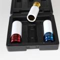 3 Stück Kraft Schlagschrauber Nuss Schoneinsatz Schoneinsätze für Alufelgen WGB