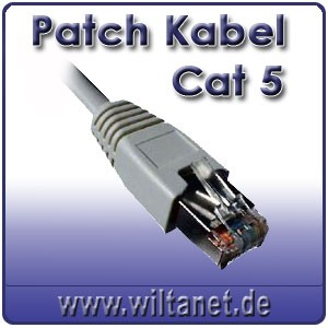 Patch Kabel CAT.5 - 5,0m