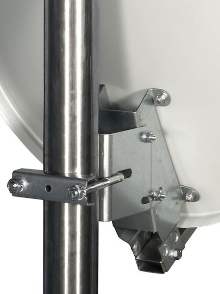 Gibertini Satellitenantenne 40 cm Aluminium Hellgrau