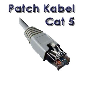 Patch Kabel CAT. 5 10,0m Netzwerk Kabel Patchkabel LAN