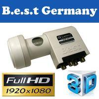 LNB Quattro 0,1 dB Best-Germany HDTV HD 3D Digital tauglich  – Bild 2