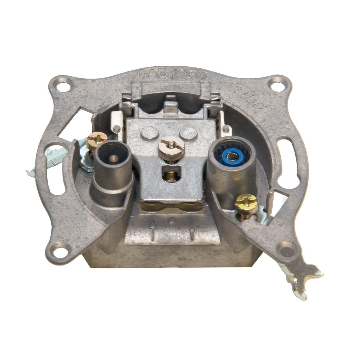Fuba Durchgangsdose Antennen-Dose 2-Fach GAD 252 FUBA Antennendose Einzeldose