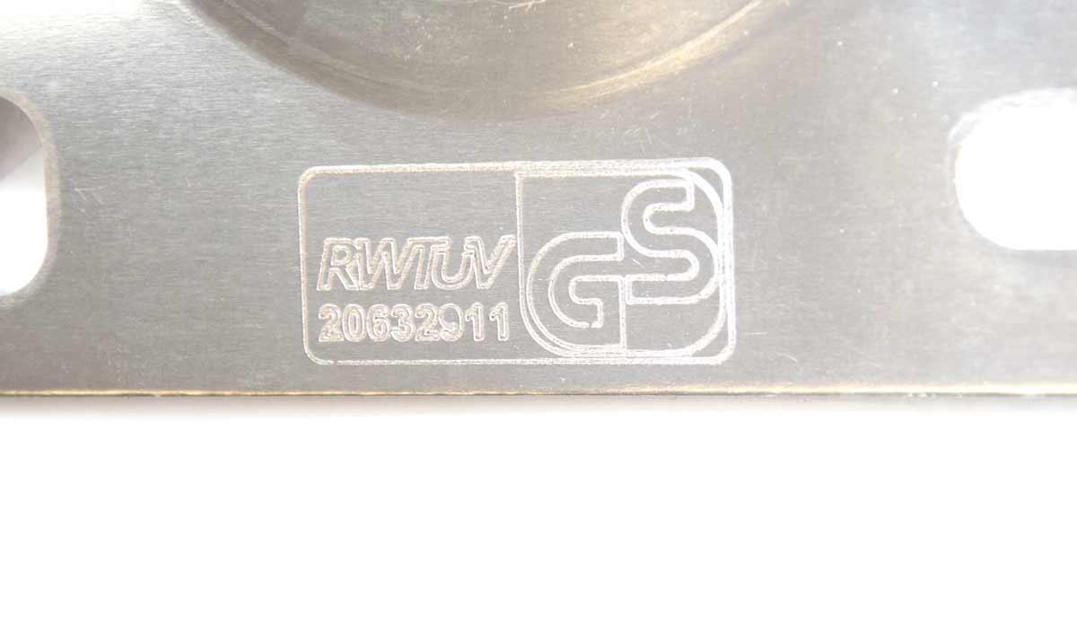 PremiumX 25cm Wandhalter ALU SAT Halter Aluminium Wand-Halterung TÜV-Geprüft 25 cm