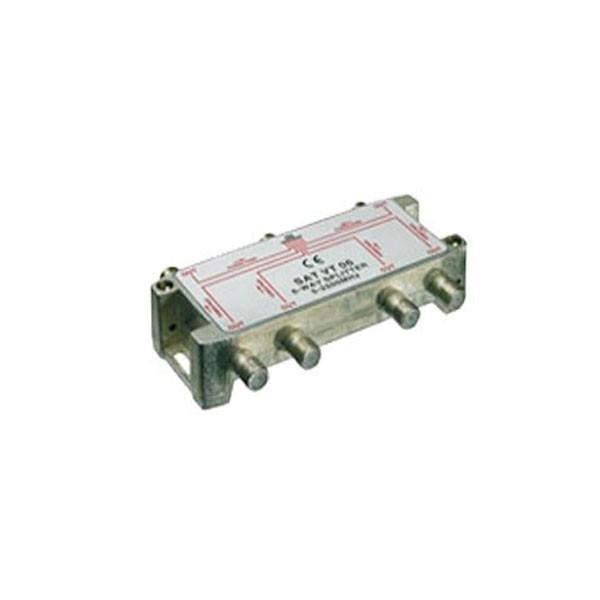 V-6 Satverteiler 6-Fach 5-2400 MHz, max. 4,5 dB NEU