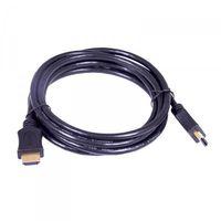 HDMI Kabel 2m schwarz, vergoldeter Stecker