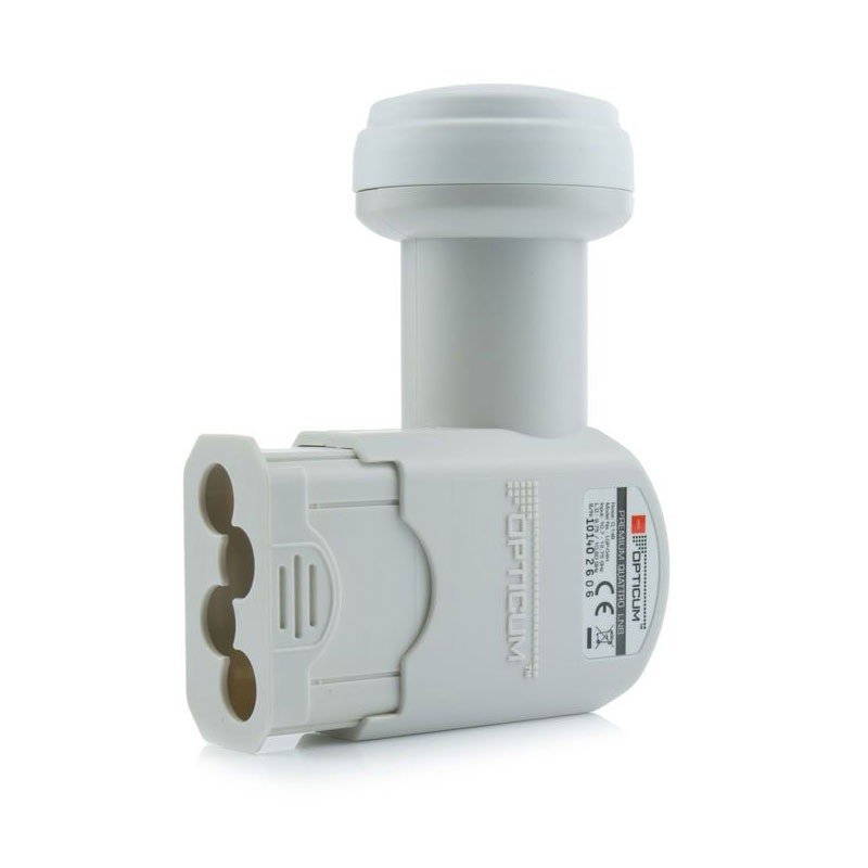Opticum LNB Quattro LRP-04H für Multischalter 0,1 dB Full HD HDTV 3D