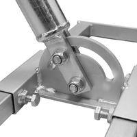 PremiumX PROFI X100-48 SAT Dachsparrenhalter Stahl feuerverzinkt Dach Sparren Halter für Satelliten-Antenne