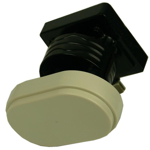 LNB Single Monoblock 0,2 dB Inverto Black Pro 3° Grad 23/60 mm Feedaufnahme FullHD 1080p NEU
