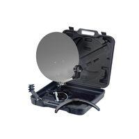 Camping SAT Koffer Anlage Komplett Set: 1x Opticum Single LNB 0,1dB + 10m Kabel inkl F-Stecker + 1,5m Scart Kabel  – Bild 3