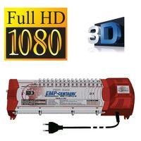 Sat Multischalter EMP Profiline 17/4 mit Netzteil PIU-6 Switch Matrix FULLHD 3D Digital , Quad tauglich – Bild 2