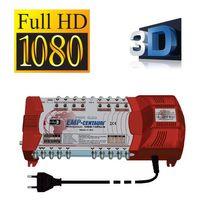 EMP ProfiLine Sat Multischalter 9/10 PIU-5 Profi line 10 Teilnehmer Switch Matrix FULLHD 3D Digital , Quad tauglich – Bild 2