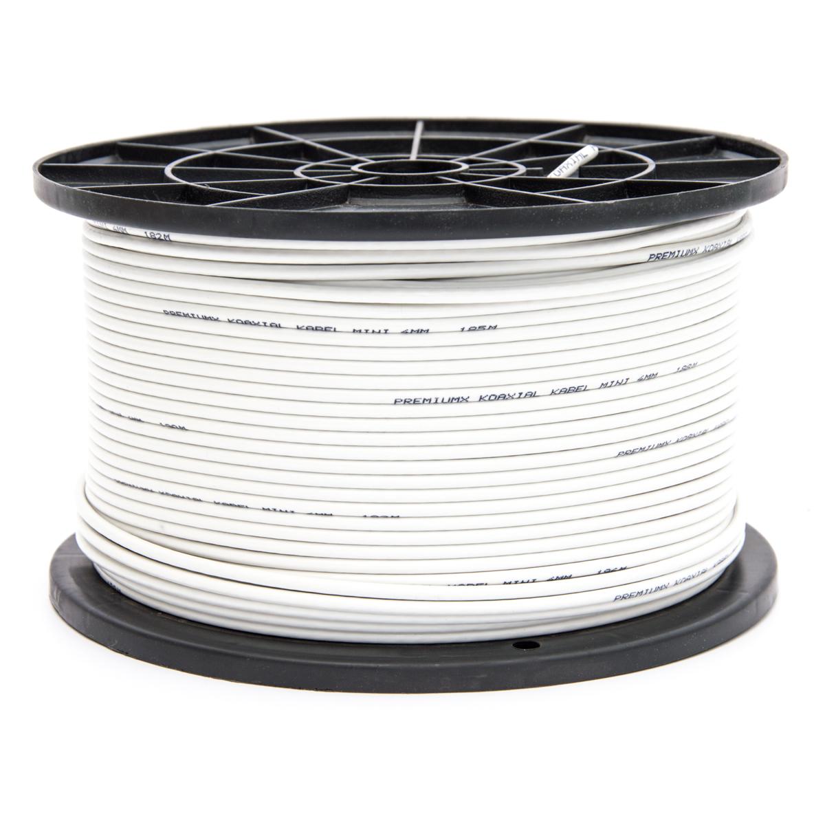 200meter Sat Koaxial Kabel 90dB 4mm FullHD HDTV 3D