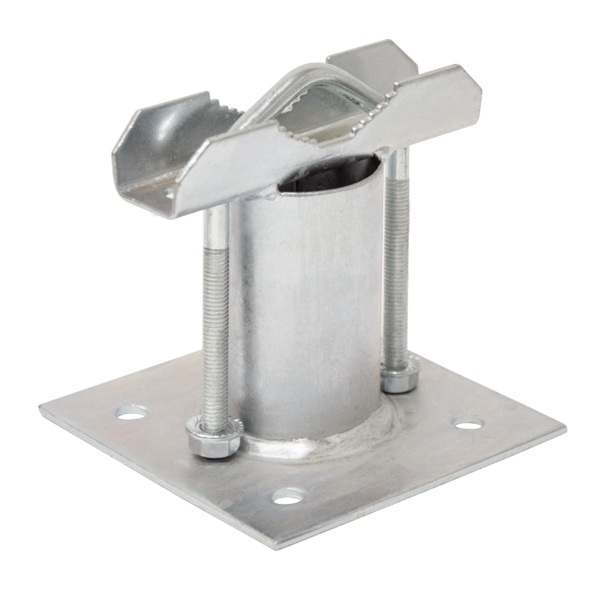 PremiumX SAT Rohrschelle für Wandausleger Mast, 1x Zahnschelle