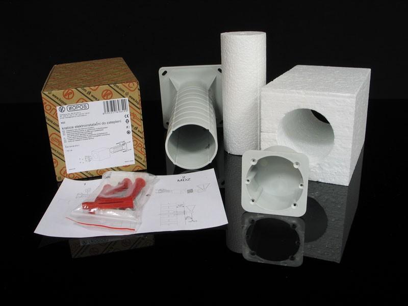 Kopos Elektroinstallationsdose in wärmegedämmten Fassaden KEZ Steckdose Teleskop Gerätedose Elektro Installation