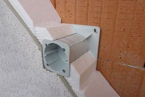 Kopos Elektroinstallationsdose in wärmegedämmten Fassaden KEZ Steckdose Teleskop Gerätedose Elektro Installation – Bild 5