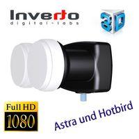 Single Monoblock Inverto Black Pro 40mm LNB, 6° IDLB-SINM40-MNOO6-8PP FULLHD 3D – Bild 2