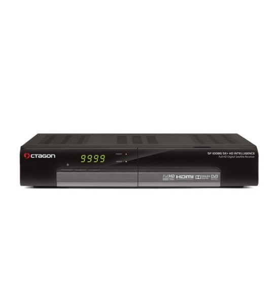 Octagon SF 1008G SE+ HD Digital Sat Receiver DVB-S2 HDTV FullHD USB LAN