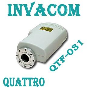 Invacom QTF-031 Quattro, C-120 Flansch LNB FULLHD Digital echte 0,3db Markenqualität