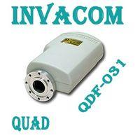 Invacom QDF-031 Quad, C-120 Flansch LNB FULLHD Digital echte 0,3db Markenqualität  – Bild 2