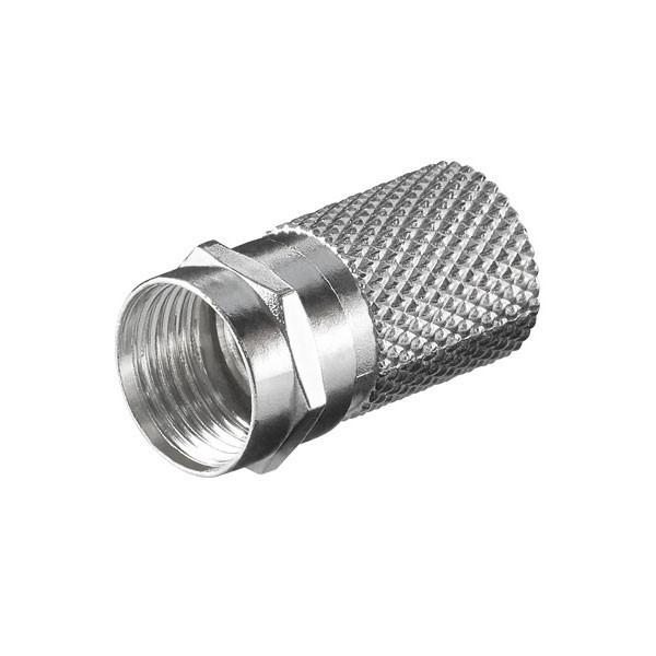 25x F-Stecker 7mm für Koaxialkabel Antennenkabel Koax Kabel
