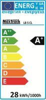 LED Leiste Strip Streifen 5m flexibel IP20 30 Stück 5050 kalt weiss 12V DC 25W – Bild 3