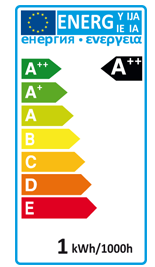 Transmedia Leuchtmittel Farbiger LED-Strahler weiß LL4W