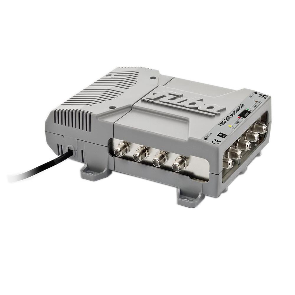 Fuba FMQ 508 Sat Multischalter | Multiswitch für 8 Teilnehmer High Quality FullHD HDTV SDTV DIGITAL 3D