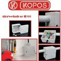 5x Kopos Abzweigdose IP66 Abzweigkasten KSK100 101x101x64mm für Feuchträume hellgrau