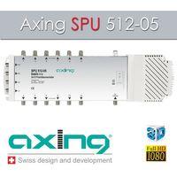 Axing SPU 512-05 Multischalter 5/12 mit Netzteil 12 Teilnehmer 4K UHD HDTV – Bild 2