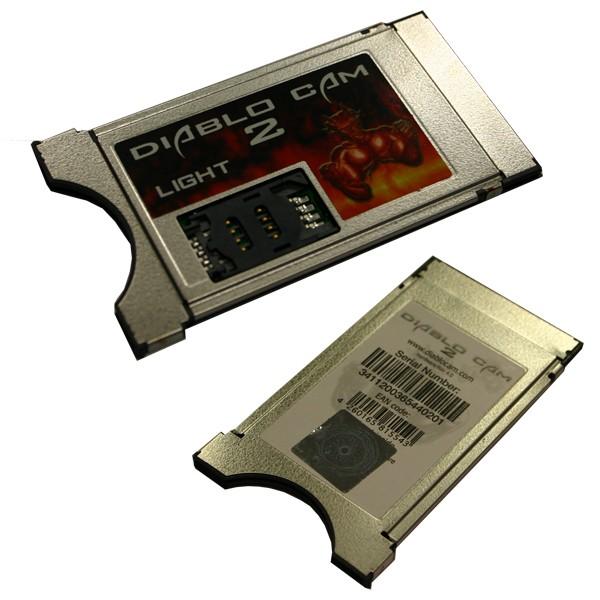 CI-Modul Diablo Cam 2 Professional LIGHT TWIN 2 Kartenleser NEU