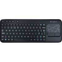 Tastatur Logitech Wireless Touch Keyboard K400 deutsches Tastaturlayout, QWERTZ NEU