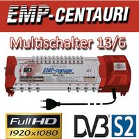 EMP Centauri Sat Multischalter 13/6 Profiline Multiswitch Switch Matrix FULLHD 3D Digital Quad Tauglich – Bild 2