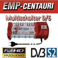EMP Centauri Sat Multischalter 9/6 Profiline Multiswitch Switch Matrix FULLHD 3D Digital Quad Tauglich – Bild 2