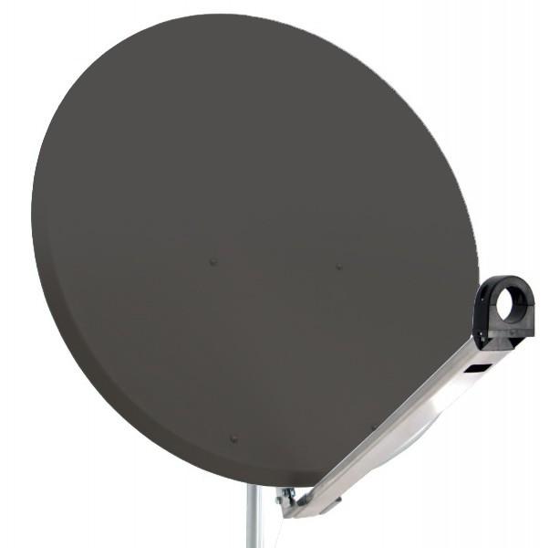 PremiumX XTS100 Satellitenantenne 100 cm Stahl Anthrazit