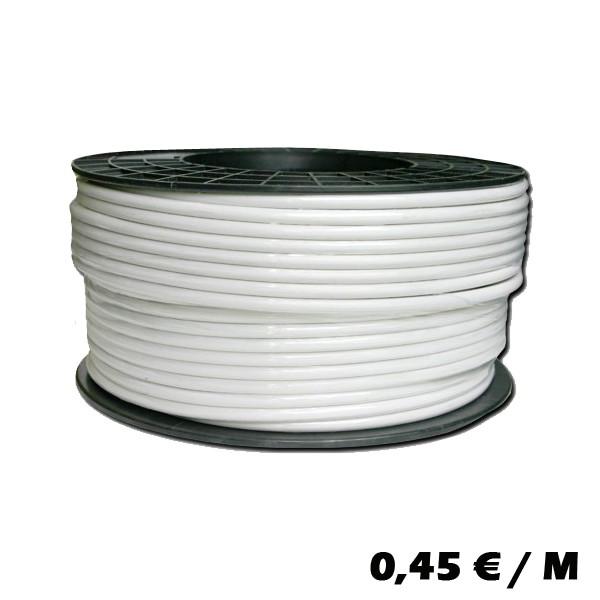 [M9-8PZ7-L3NM] 50m Ring CCS Koaxial-Kabel SAT Kabel Antennenkabel 135dB 5fach geschirmt Grundpreis/m 0,46 EURO