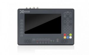 "X-Finder 7"" LCD Profi Messgerät Satfinder Sat Finder HD DVB-S2 / DVB-S / DVB-C / DVB-T Full HD"