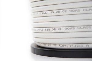 PremiumX 100m Koaxial Kabel SAT-Antennenkabel 135dB 5-Fach geschirmt REINES KUPFER Innenleiter Class A Kabel 100 Meter – Bild 3