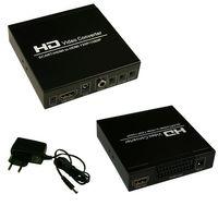 PremiumX Scart zu HDMI Converter / Konverter mit Skalierung auf 720p/1080p