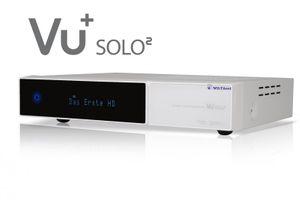 VU+ Solo² WE Digital Sat Receiver 2x DVB-S2 Tuner HDTV FullHD Linux Weiß – Bild 4