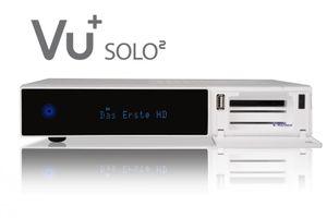 VU+ Solo² WE Digital Sat Receiver 2x DVB-S2 Tuner HDTV FullHD Linux Weiß – Bild 6