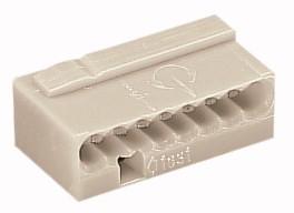 50 Stück WAGO MICRO-Verbindungsdosenklemme; 8-Leiter-Klemme, 243-308